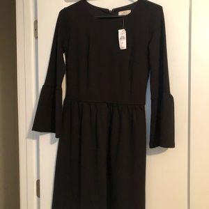 Loft size 0 black dress